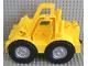 Part No: 5523  Name: Duplo Bulldozer Body with Wheels