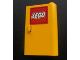Part No: 58380pb01  Name: Door 1 x 3 x 4 Right - Open Between Top and Bottom Hinge with Lego Logo Pattern (Sticker) - Set 3221