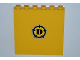 Part No: 59349pb051  Name: Panel 1 x 6 x 5 with Dino Logo Pattern (Sticker) - Set 5887