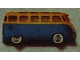 Part No: 607pb03  Name: HO Scale, VW Minibus with Blue Base