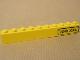 Part No: 6111pb009R  Name: Brick 1 x 10 with '7249 XXL' Pattern Right (Sticker) - Set 7249