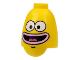 Part No: 61286pb03  Name: Minifigure, Head Modified SpongeBob Ice Cream Vendor Pattern