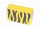 Part No: 6213pb04  Name: Brick 2 x 6 x 3 with Black Animal Stripe Pattern