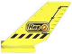 Part No: 6239px3  Name: Tail Shuttle with Res-Q and Black Lines Pattern