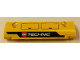 Part No: 62531pb011R  Name: Technic, Panel Curved 11 x 3 with Hatches and LEGO TECHNIC Logo Pattern Model Right Side (Sticker) - Set 42006