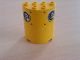 Part No: 6259pb002  Name: Cylinder Half 2 x 4 x 4 with Vent Holes Pattern (Sticker) - Set 8250