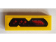 Part No: 63864pb084  Name: Tile 1 x 3 with Red Level Meter Pattern (Sticker) - Set 76086