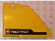Part No: 64394pb021  Name: Technic, Panel Fairing #13 Large Short Smooth, Side A with Black Stripe and LEGO TECHNIC Logo Pattern (Sticker) - Set 8069