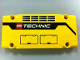 Part No: 64782pb005R  Name: Technic, Panel Plate 5 x 11 x 1 with Grilles, Hatches and LEGO TECHNIC Logo Pattern Model Right Side (Sticker) - Set 42009