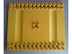 Part No: 6655  Name: Duplo, Toolo Plate 12 x 14 with 2 x 14 Studs on Sides and 2 x 2 Studs in Center