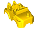 Part No: 67321  Name: Duplo Bulldozer Body with Red Gaskets