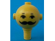 Part No: 685px5  Name: Homemaker Figure Head with Eyes, Eyebrows and Moustache Pattern