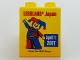 Part No: 76371pb035  Name: Duplo, Brick 1 x 2 x 2 with Bottom Tube with Legoland Japan April 1 2017 Pattern