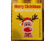 Part No: 76371pb040  Name: Duplo, Brick 1 x 2 x 2 with Bottom Tube with Legoland Discovery Centre Merry Christmas 2016 Pattern