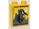 Part No: 76371pb053  Name: Duplo, Brick 1 x 2 x 2 with Bottom Tube with Lego Batman Legoland Discovery Centre Pattern