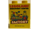 Part No: 76371pb128  Name: Duplo, Brick 1 x 2 x 2 with Bottom Tube with Legoland Discovery Center Factory 2016 Pattern 1