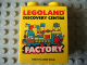 Part No: 76371pb148  Name: Duplo, Brick 1 x 2 x 2 with Bottom Tube with Legoland Discovery Centre Factory 2014 Pattern