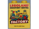 Part No: 76371pb150  Name: Duplo, Brick 1 x 2 x 2 with Bottom Tube with Legoland Discovery Centre Factory 2015 Pattern