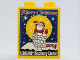Part No: 76371pb177  Name: Duplo, Brick 1 x 2 x 2 with Bottom Tube with LEGOLAND Discovery Center Merry Christmas 2014 Pattern