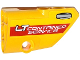 Part No: 87086pb017  Name: Technic, Panel Fairing # 2 Small Smooth Short, Side B with 'LT CONTAINER SERVICE' and Door Handle Pattern (Sticker) - Set 42024
