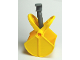 Part No: 89389c01  Name: Duplo Crane Bucket (Jaws, Spring and Dark Bluish Gray Top)
