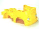 Part No: 95462pb02  Name: Duplo Car Body Truck with Lego Logo and Silver Headlights on Front Pattern (Fits over Car Base 2 x 4)