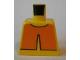 Part No: 973pb0308  Name: Torso Avatar Orange Overshirt Pattern