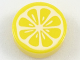 Part No: 98138pb080  Name: Tile, Round 1 x 1 with Lemon Slice Pattern