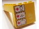 Part No: BA064pb01  Name: Stickered Assembly 4 x 6 x 3 with Airport Sign Directions Pattern (Sticker) - Set 6392 - 2 Bricks 1 x 4, 1 Brick 1 x 3, 1 Brick 1 x 6