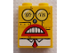 Part No: BA234pb01  Name: Stickered Assembly 2 x 1 x 2 with Robot SpongeBob Face Pattern (Sticker) - Set 4981 - 1 Brick 1 x 2, 2 Technic, Brick 1 x 1 with Hole