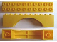 Part No: archmiB  Name: Minitalia Arch 2 x 10 x 2 with Bottom Tubes
