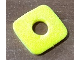 Part No: bb0931  Name: Foam, Scala Cheese for Hamburger with Hole #3159