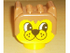 Part No: dupbearhead  Name: Duplo Animal Head Bear