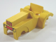 Part No: dupcarbody12  Name: Duplo Car Body Tractor with Grille Pattern (fits over Car Base 2 x 6)