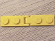 Part No: hngpltc01  Name: Hinge Plate 1 x 2 with Single / Double Finger