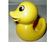 Part No: pri021  Name: Primo Animal Duck with Yellow Beak