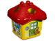 Part No: pri036  Name: Primo Shape Sorter House