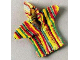 Part No: scl016  Name: Scala, Clothes Baby Jacket with Hood and Rainbow Pattern