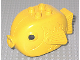 Part No: x1145px1  Name: Duplo Fish with 4 Studs on Top and Black Eyes Pattern