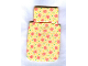 Part No: x24pb01  Name: Scala Cloth Sleeping Bag Baby's, Pink Butterflies with Green and Yellow Dots Pattern