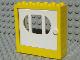 Part No: x610c02  Name: Fabuland Door Frame 2 x 6 x 5 with White Door