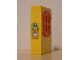 Part No: x635c01pb08  Name: Fabuland Building Wall 2 x 6 x 7 with Round Symmetric Red Window with Cake Plaque Pattern (Sticker) - Set 3672