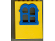 Part No: x637c01  Name: Fabuland Building Wall 2 x 6 x 7 with Squared Blue Window