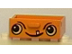 Part No: 4536px1  Name: Container Cupboard 2 x 3 Drawer with Face Pattern