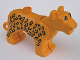 Part No: bigcat01c01pb02  Name: Duplo Leopard Adult First Version with Straight Head