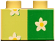 Part No: 3437pb003  Name: Duplo, Brick 2 x 2 with Flower Wallpaper Pattern