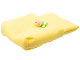 Part No: pouch06  Name: Belville Cloth Pouch, Baby with green and pink Floral Bow