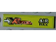 Part No: 2431pb186R  Name: Tile 1 x 4 with 'XR FUEL' and 'AIR BAX' Pattern Model Right Side (Sticker) - Set 8186