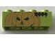Part No: 3001pb164  Name: Brick 2 x 4 with Legoland Deutschland Halloween 2004 Pumpkin Pattern 2 of 3