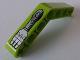 Part No: 32348pb009L  Name: Technic, Liftarm 1 x 7 Bent (4 - 4) Thick with Robot Arm 3 Fingers Pattern Model Left Side (Sticker) - Set 8307